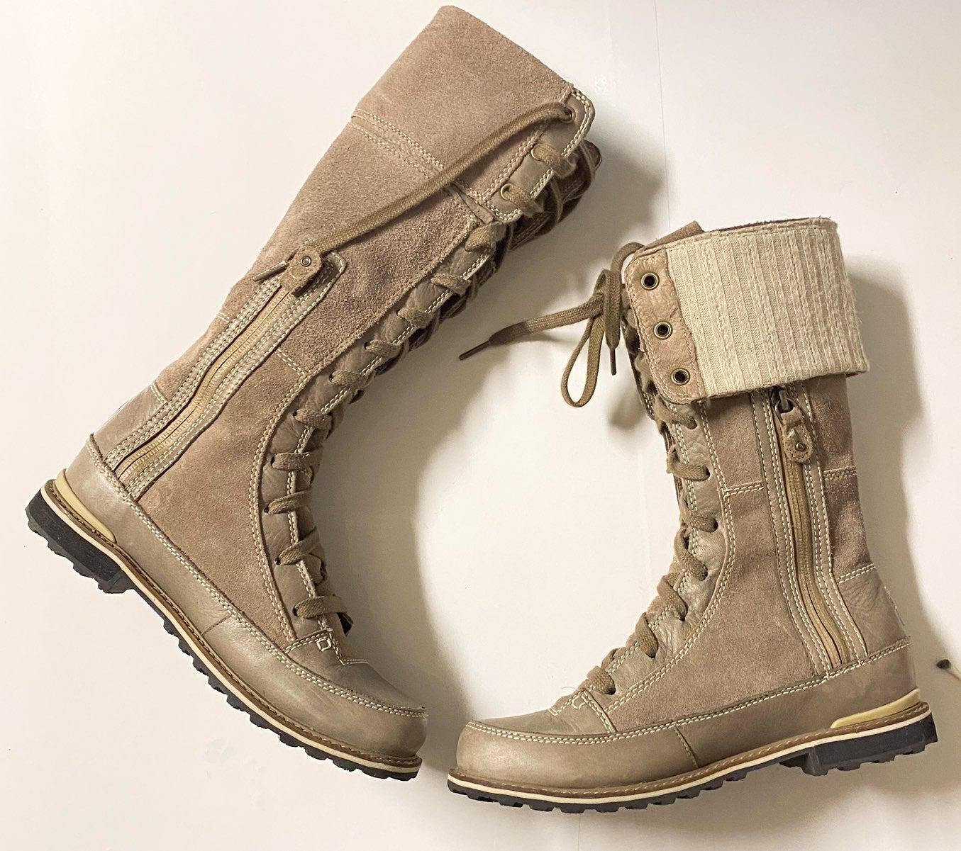 The North Face primaloft tan boot sz 7