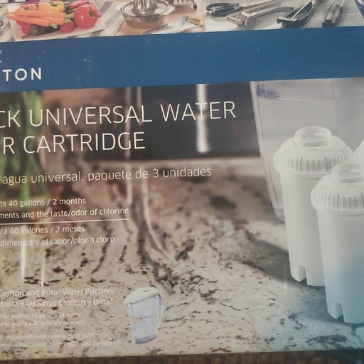 New Crofton 3pack Universal Water Filter