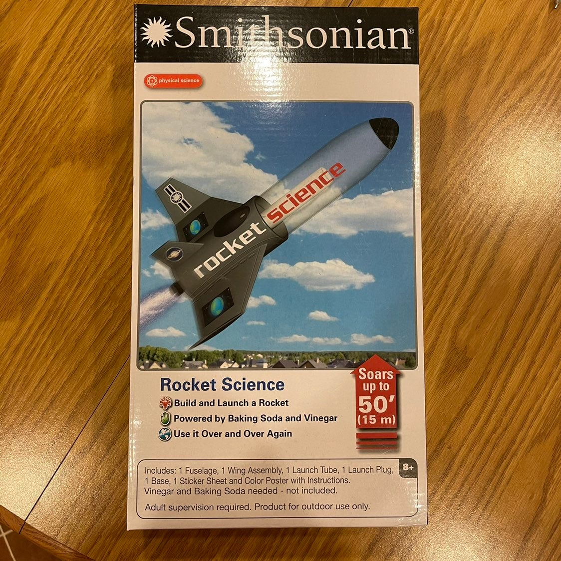 Smithsonian Rocket Launch Kit