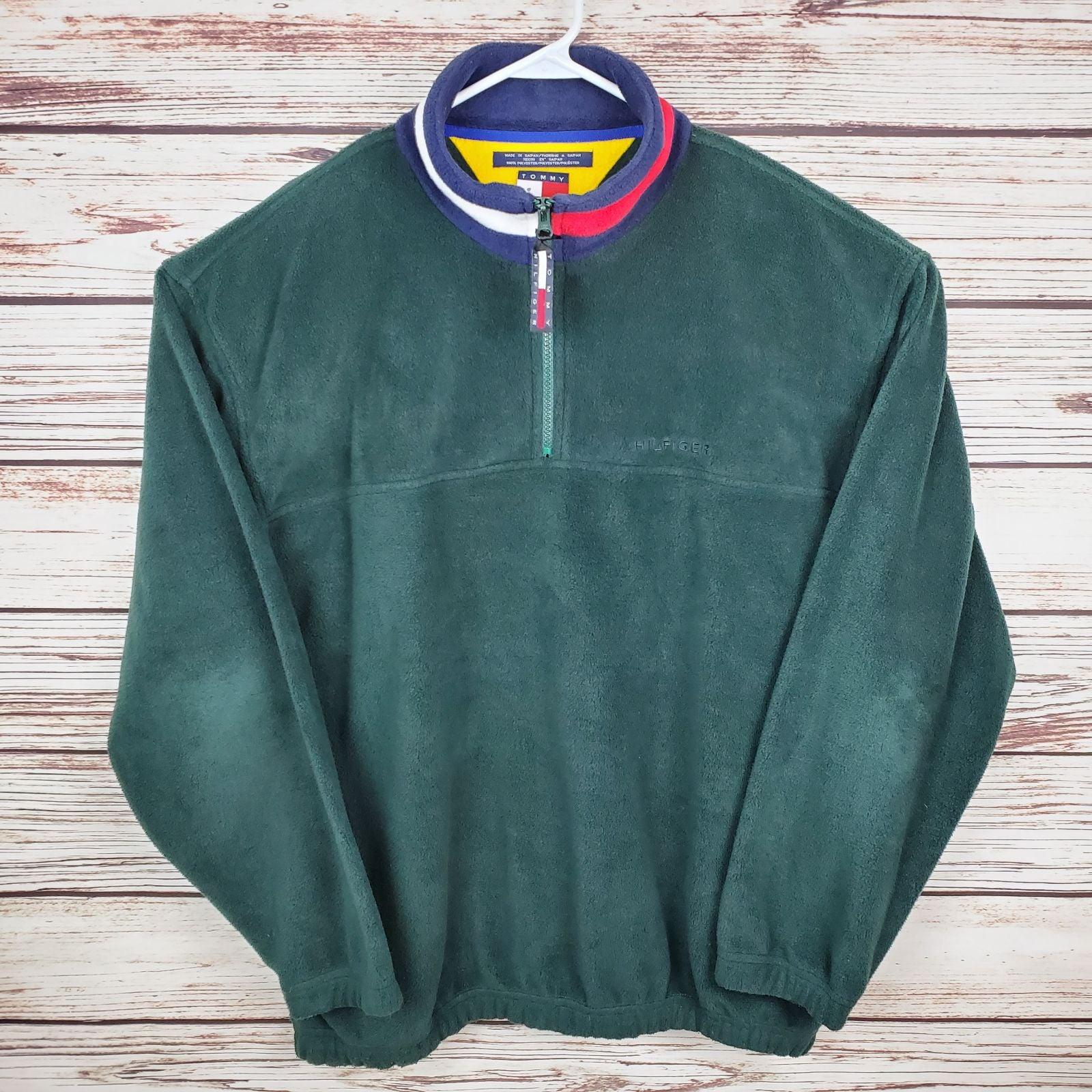 Tommy Hilfiger Lg vtg Fleece Pullover