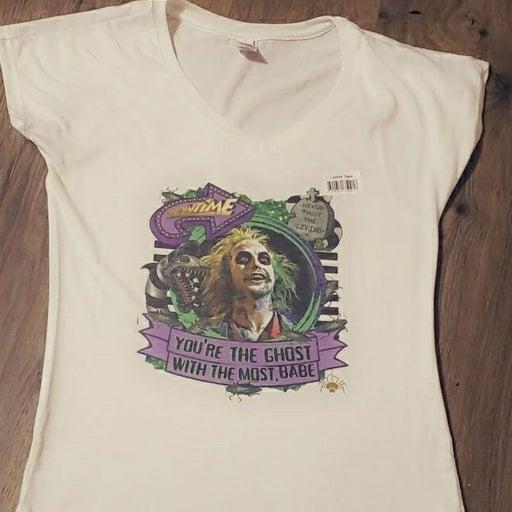 Beetlejuice shirt!