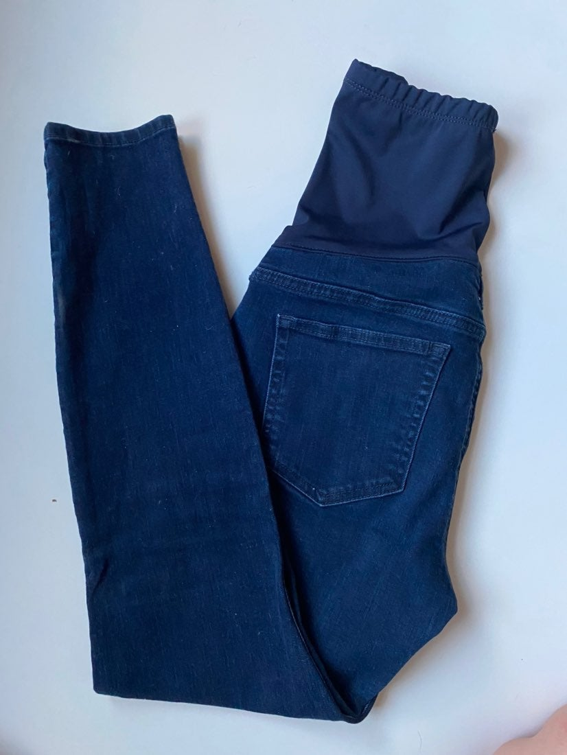 2 pairs of Maternity skinny jeans