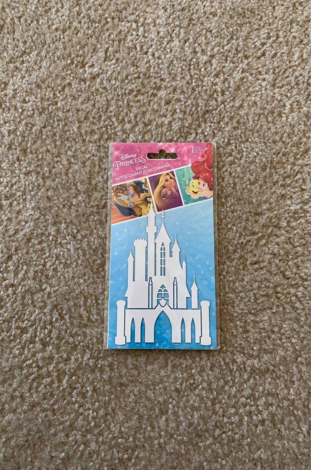 Disney Princess Castle Decal