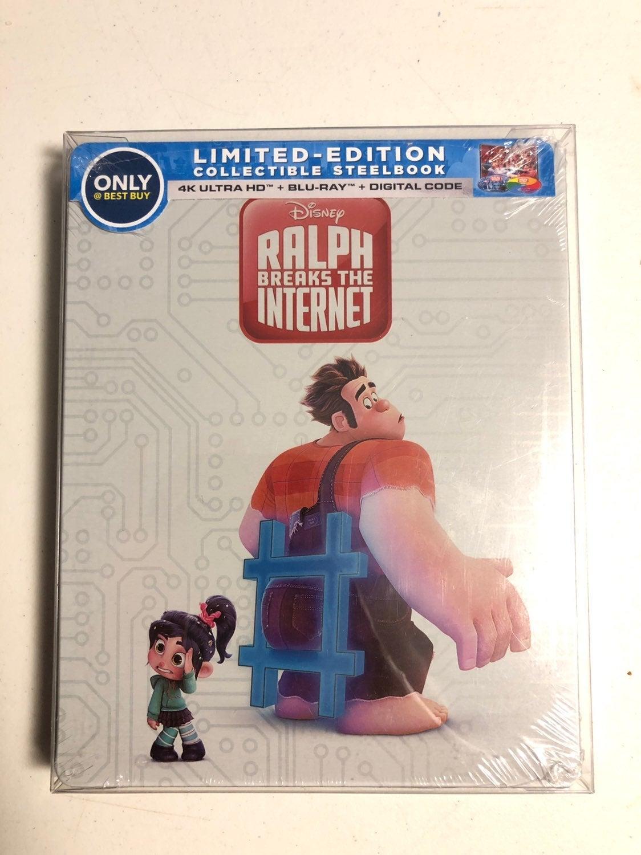 Disney Ralph breaks the internet 4k