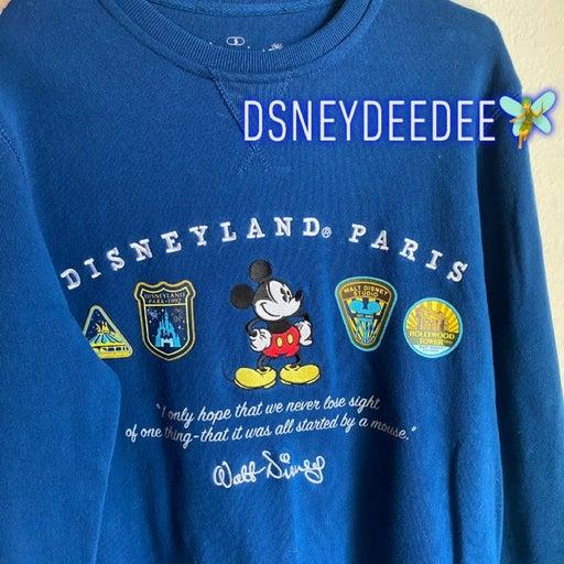 Disneyland Paris crewneck sweater