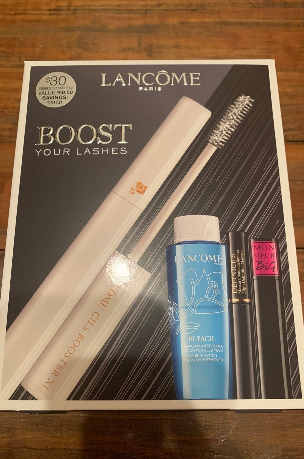 Lancome Boost Your Lashes kit