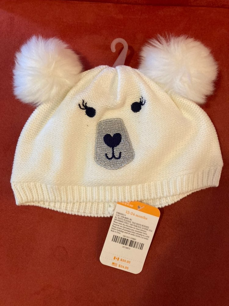 NEW Gymboree Baby Girl Hat 12-24 months