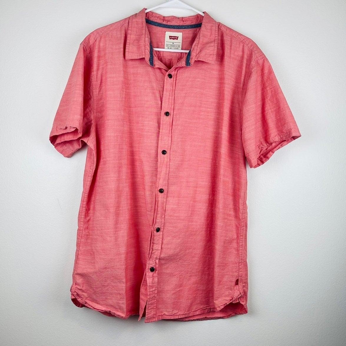 Levi Strauss Co Button Down Shirt XL