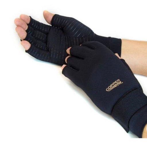 Copper Fit Hand Relief Gloves L/XL