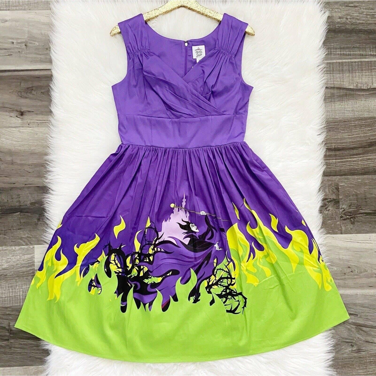 Disney Parks Maleficent Dress Shop XL