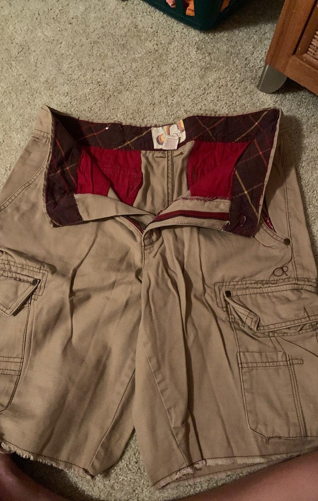 Mens op cargo shorts