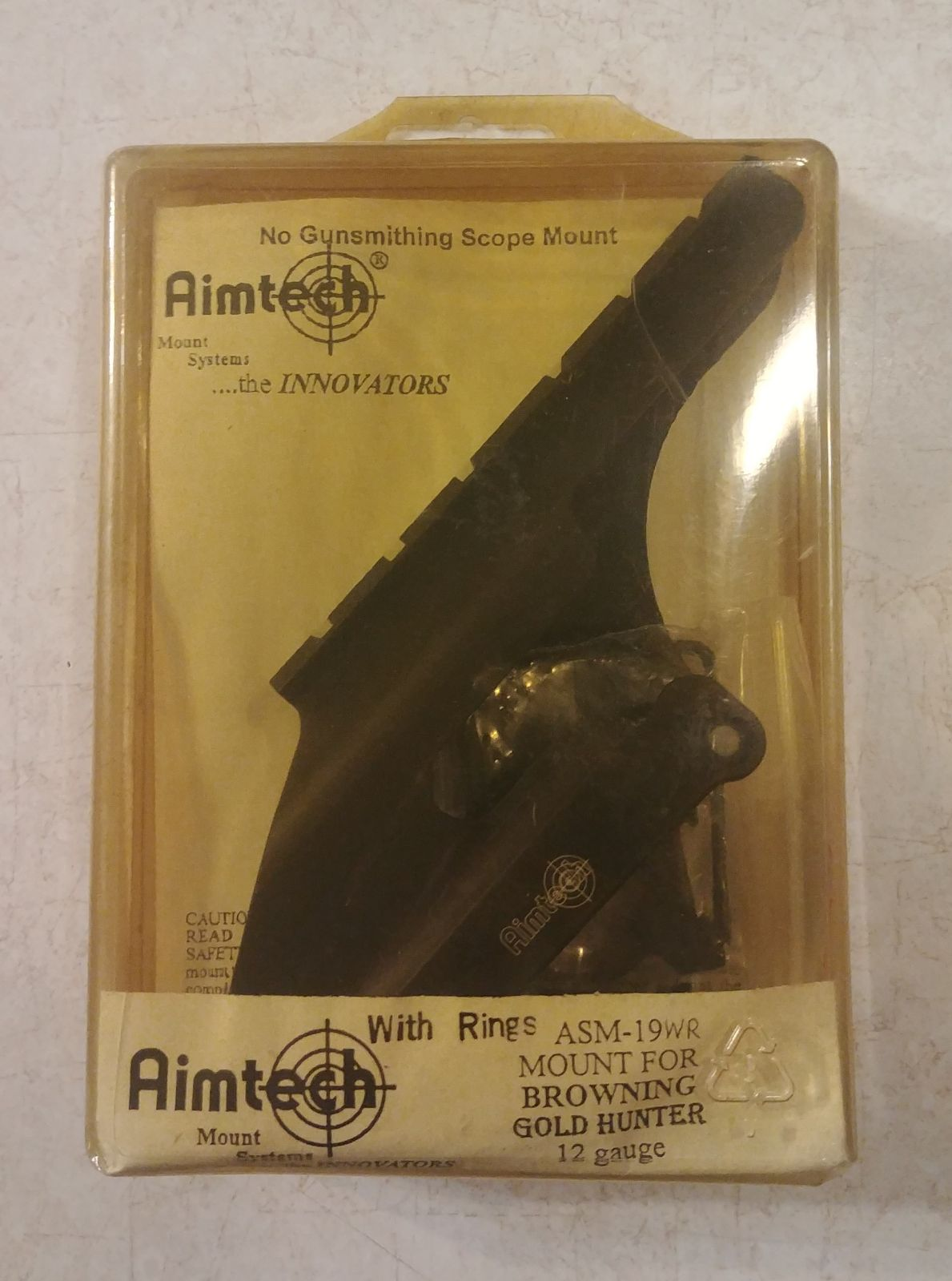 Aimtech ASM19WR Browning 12G Scope Mount