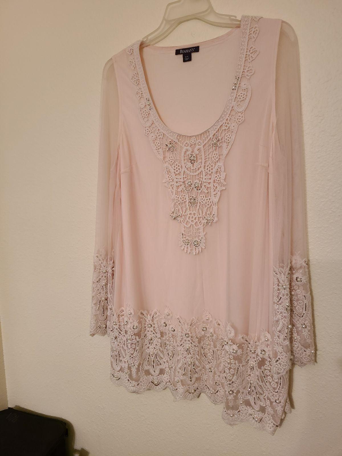 Beautiful beaded blouse!