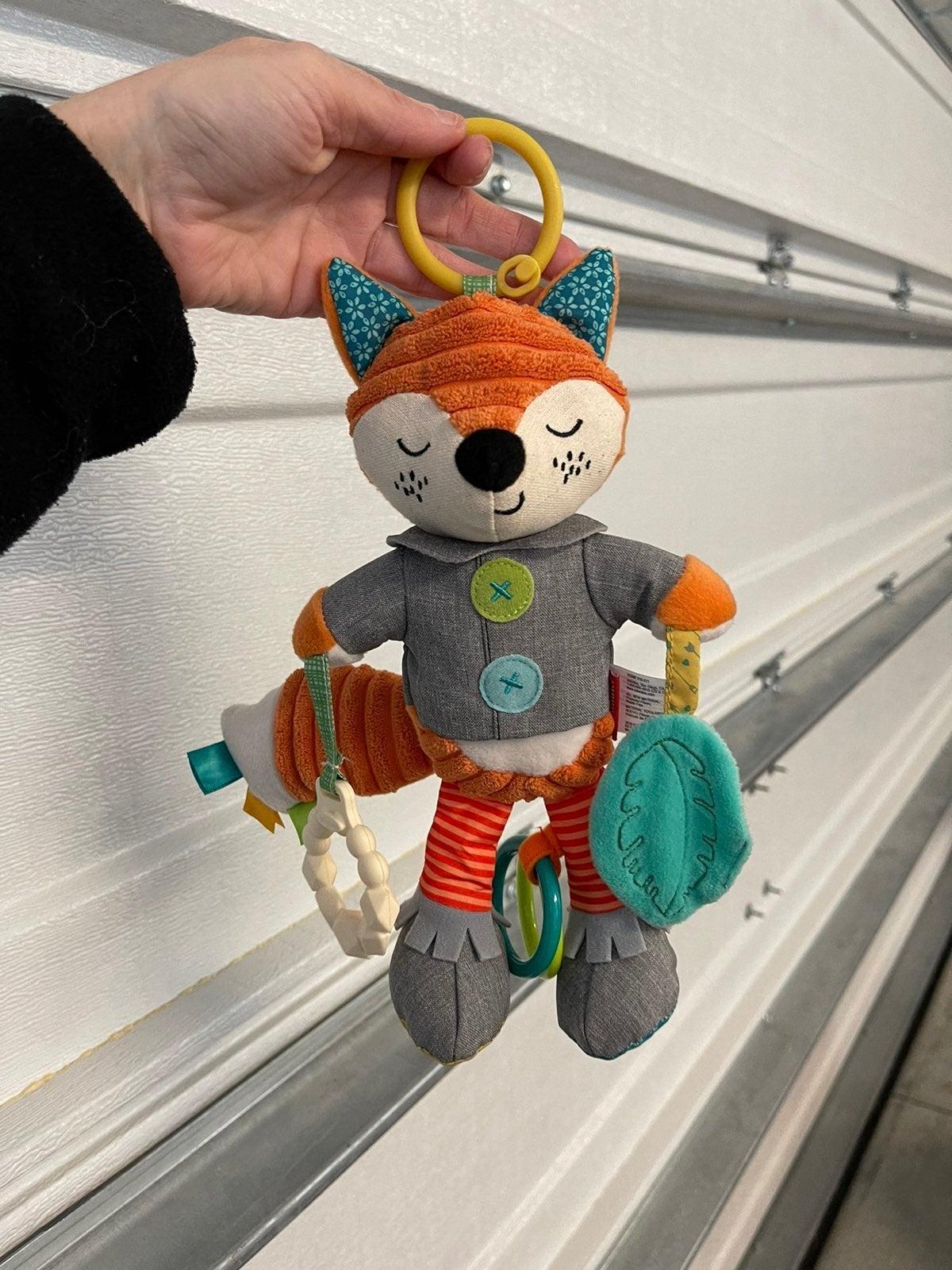 Infantino Baby Fox Plush Toy