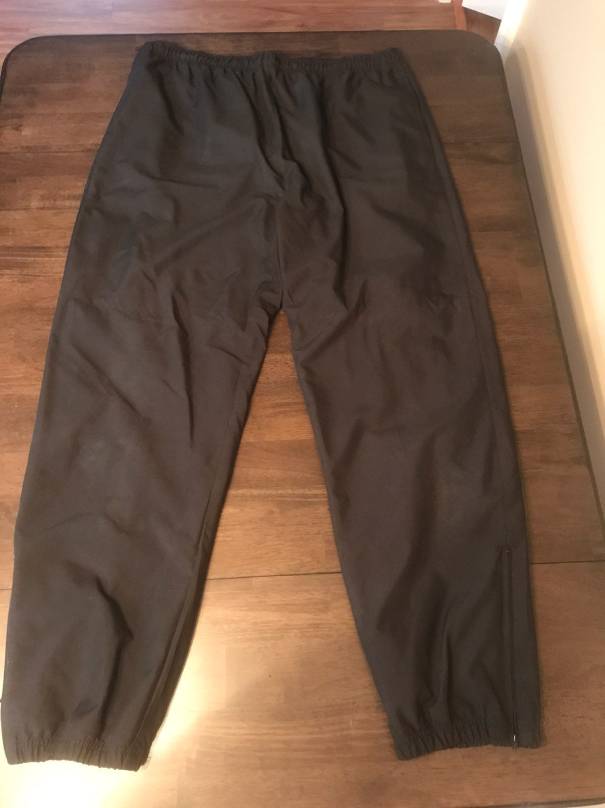 Weatherproof XL Track Pants Black Windbr