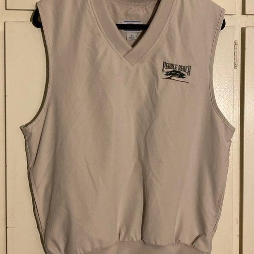 Pebble Beach Fleece Vest