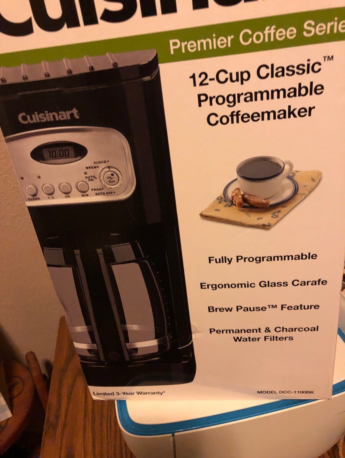 Cusinart 12 cup coffee maker
