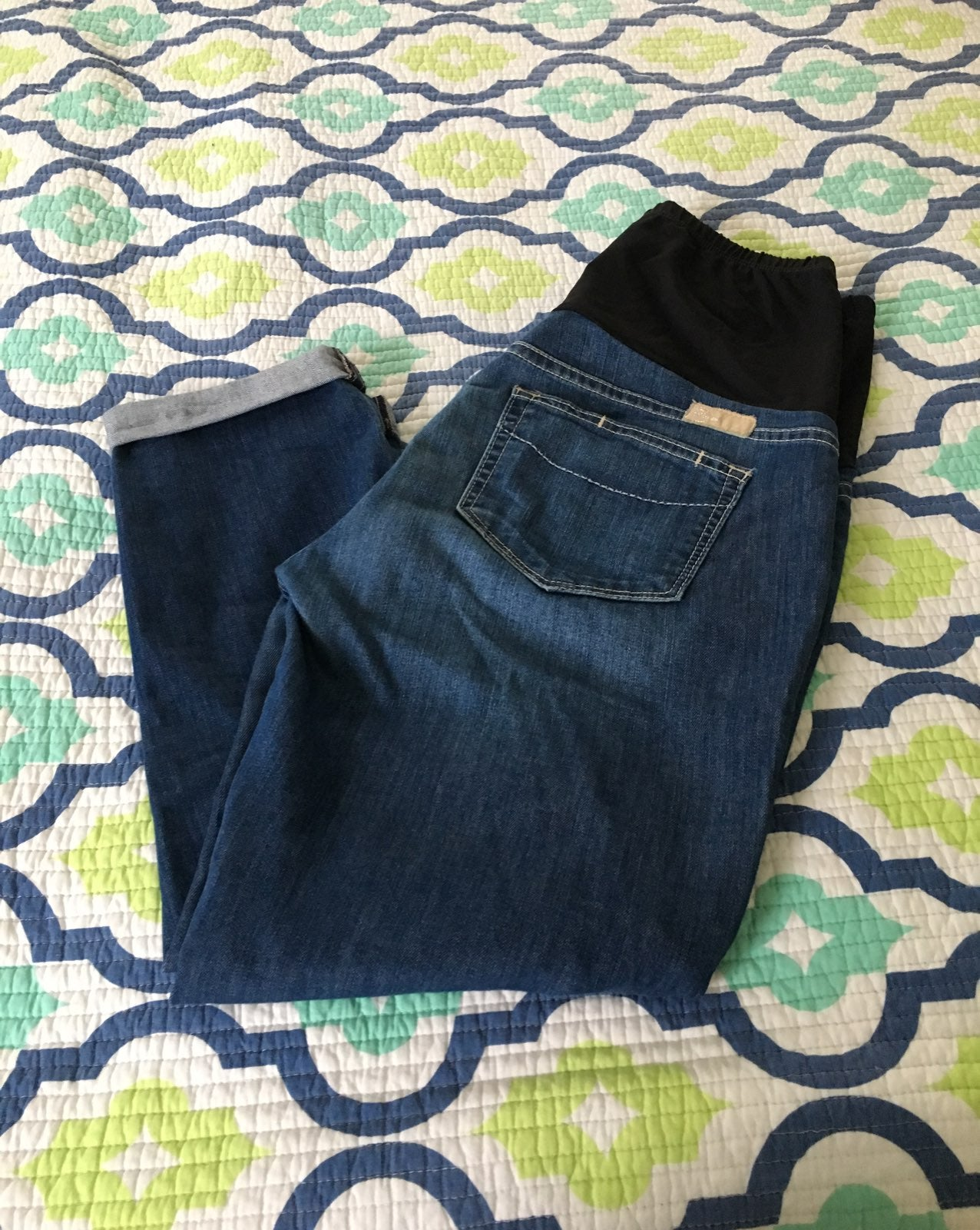 Paige Maternity Premium Cropped Jeans