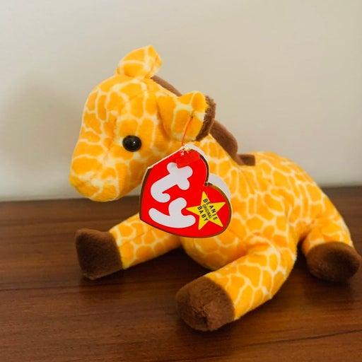 TY Beanie Baby Twigs the Giraffe Retired