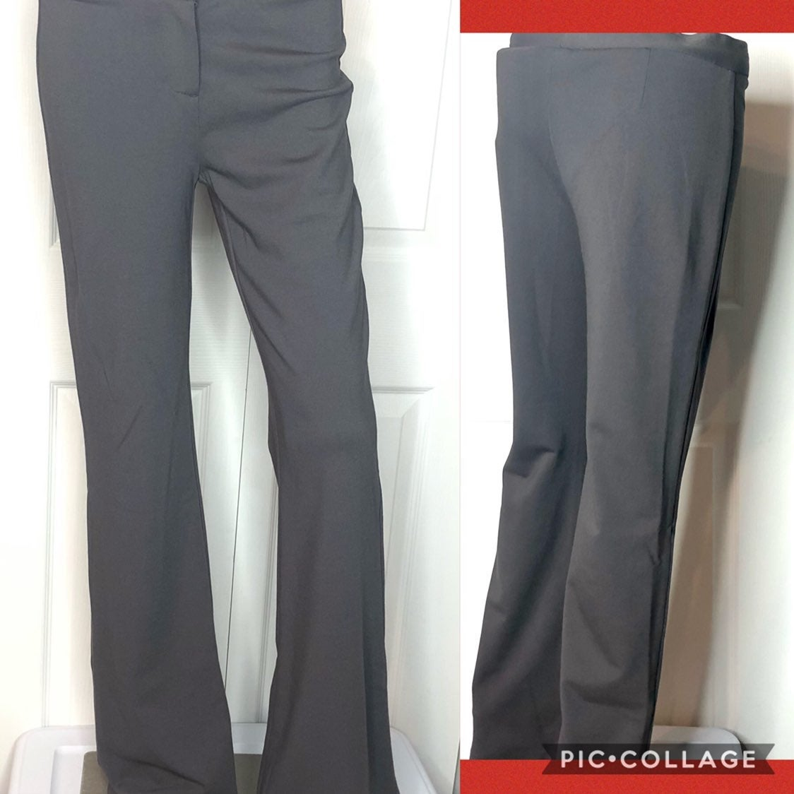 NWT Tempo Paris gray bootcut pants