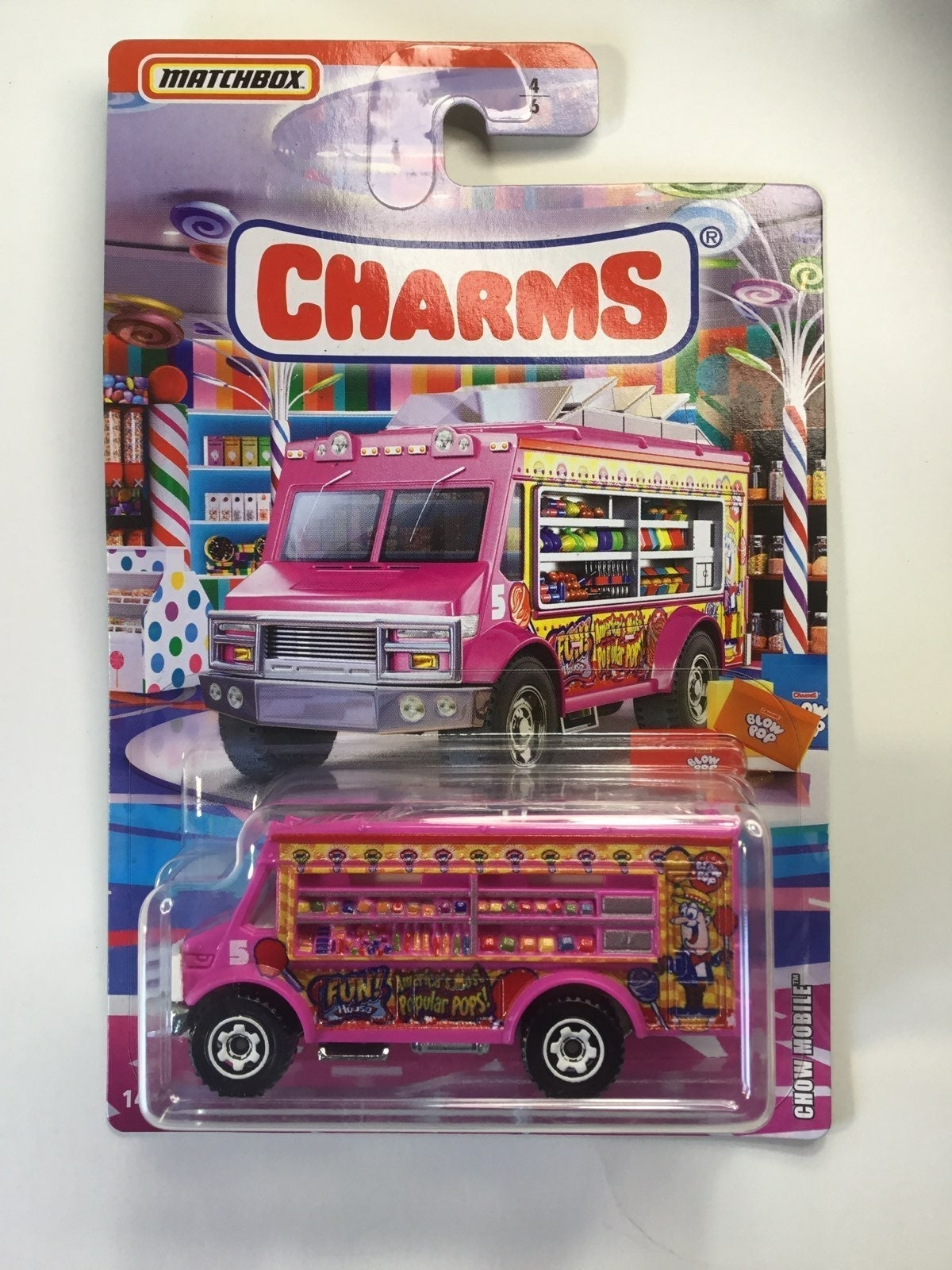 MATCHBOX CHARMS CHOW MOBILE