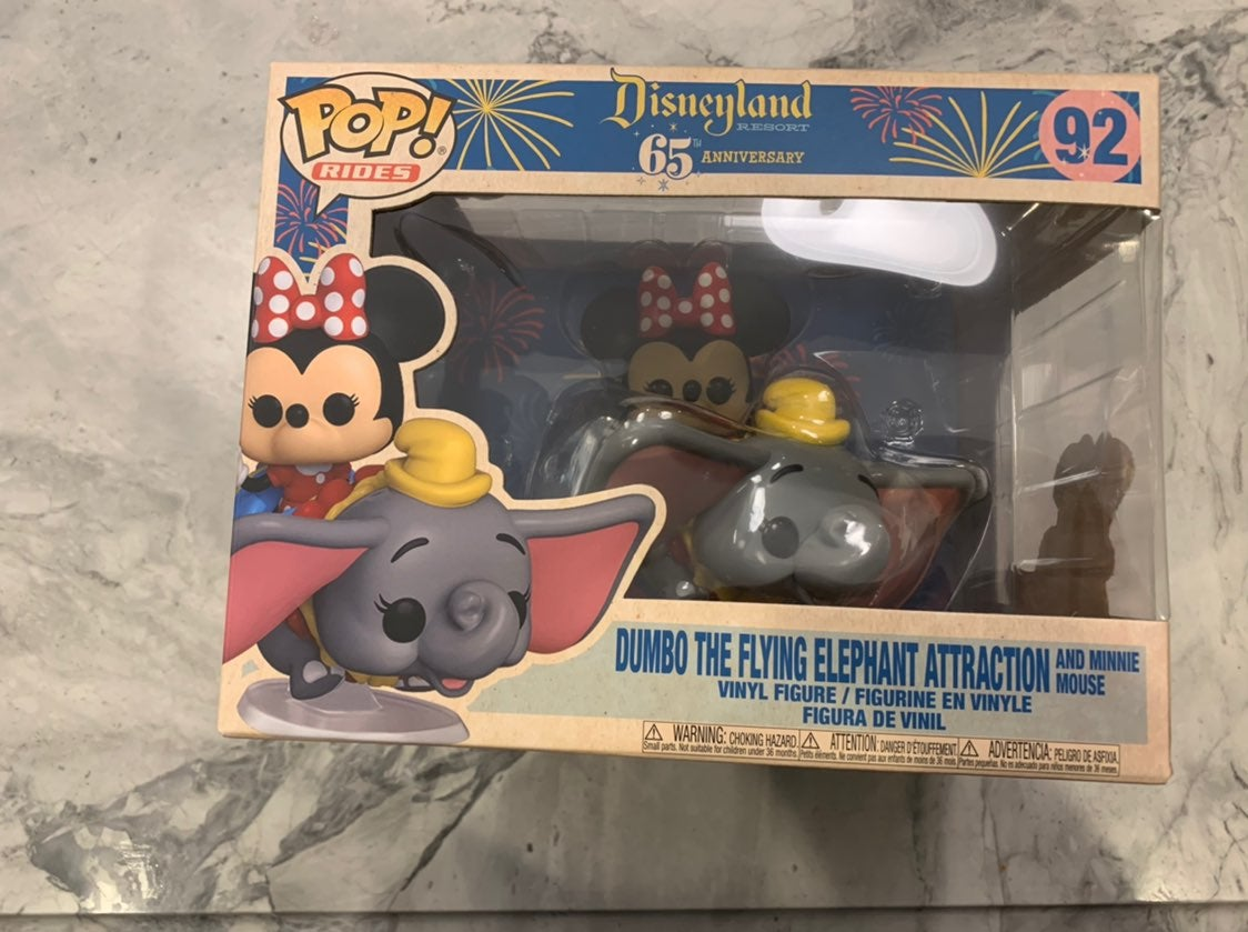 Dumbo Flying Elephant and Minnie Mouse 9