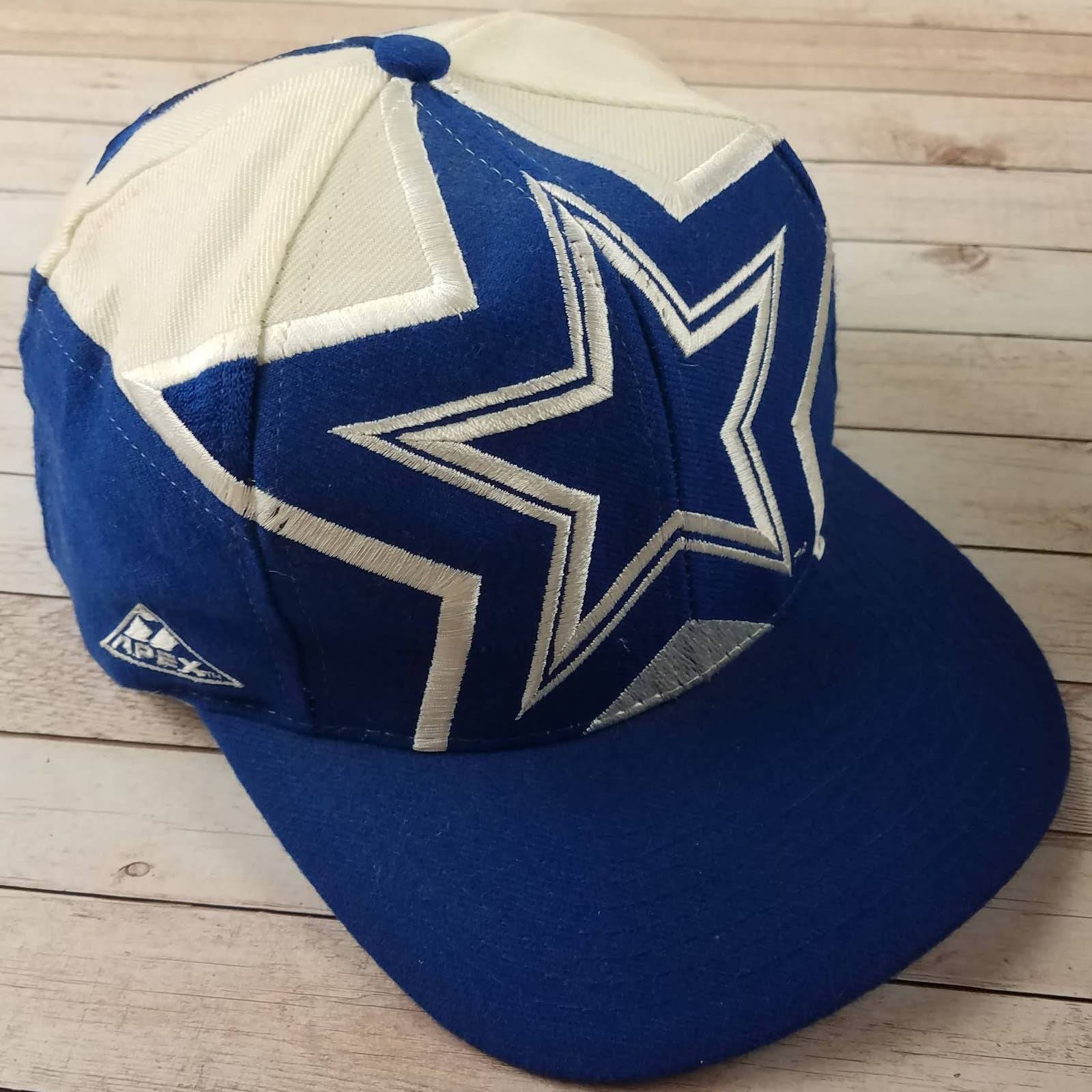 VTG 90s Dallas Cowboys Apex Snapback Hat