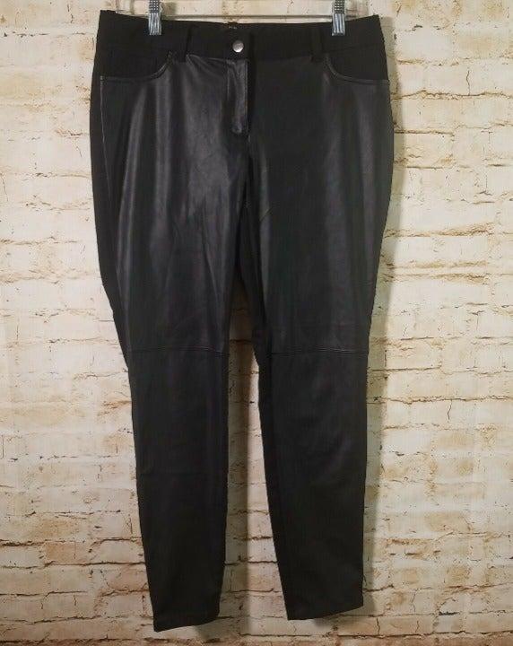 Attention Women's Black Slim Fit Pants 6