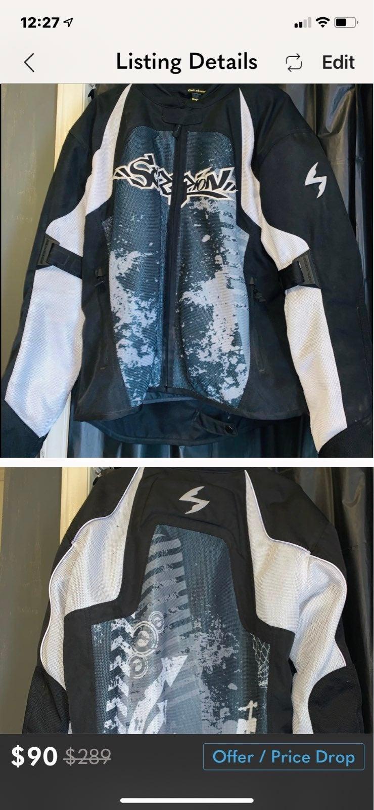 Scorpion Exo Skeleton racing jacket