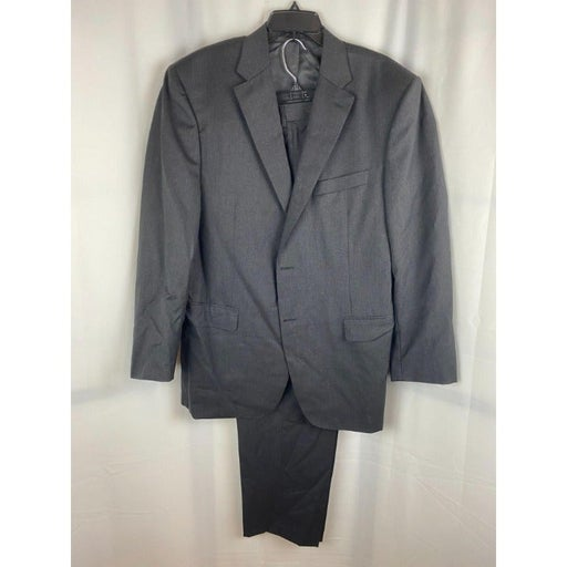 Canali Classic Fit Solid Wool Suit 46L