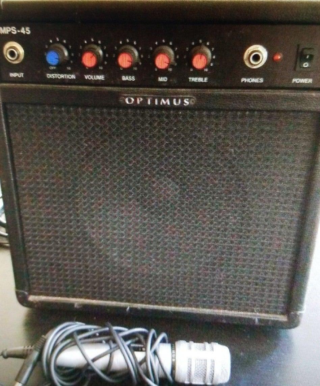 Optimus MPS-45 Guitar/Keyboard Amplifier