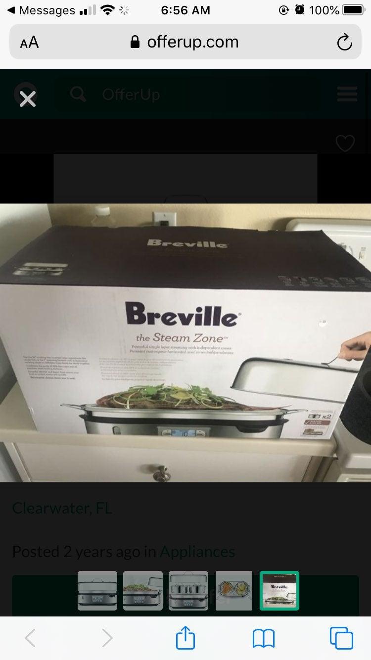 Breville double steamer