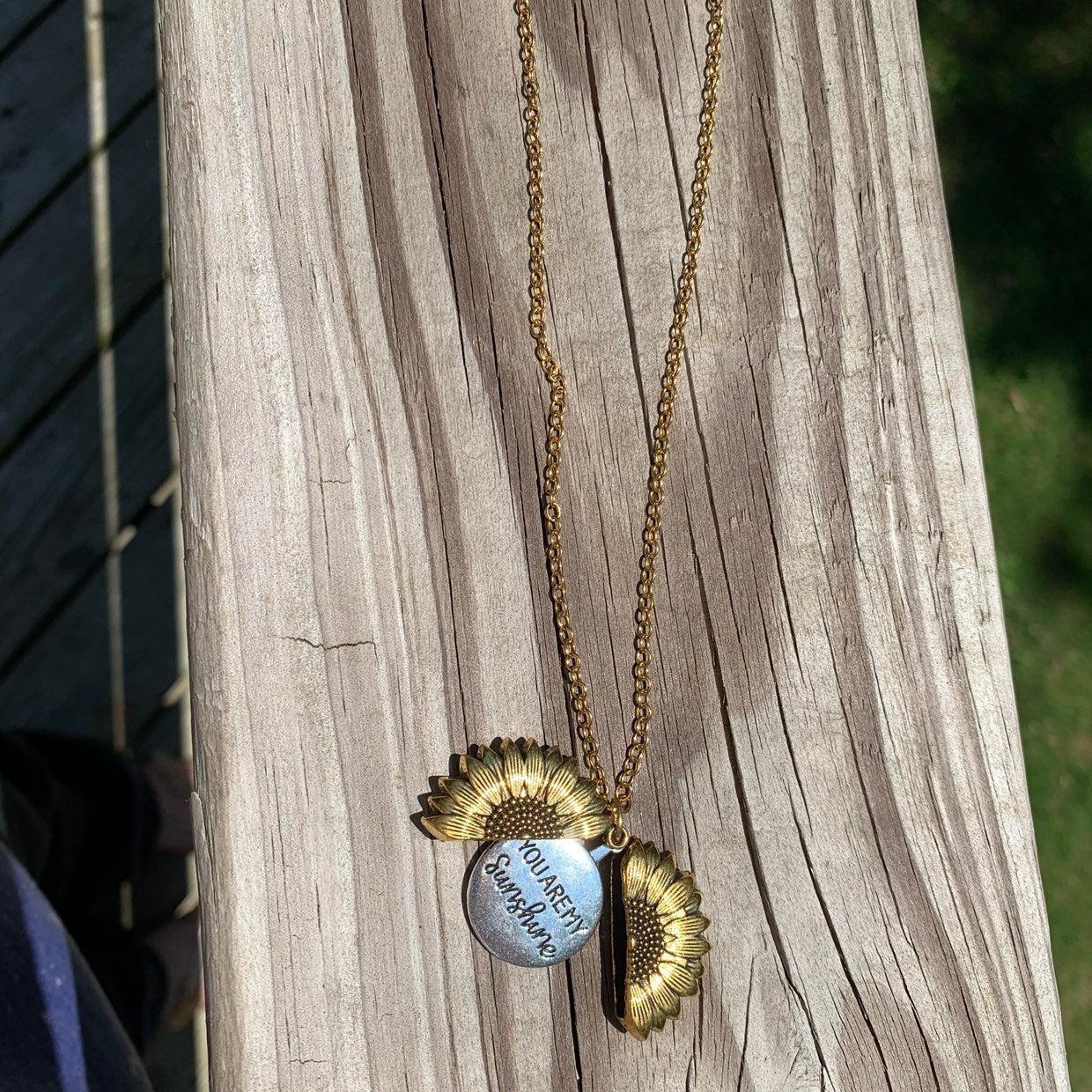Beautiful you are my Sunshine necklace
