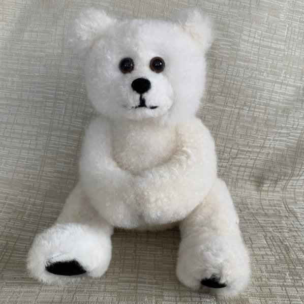 11 IN Baby Alpaca Fur Teddy Bear