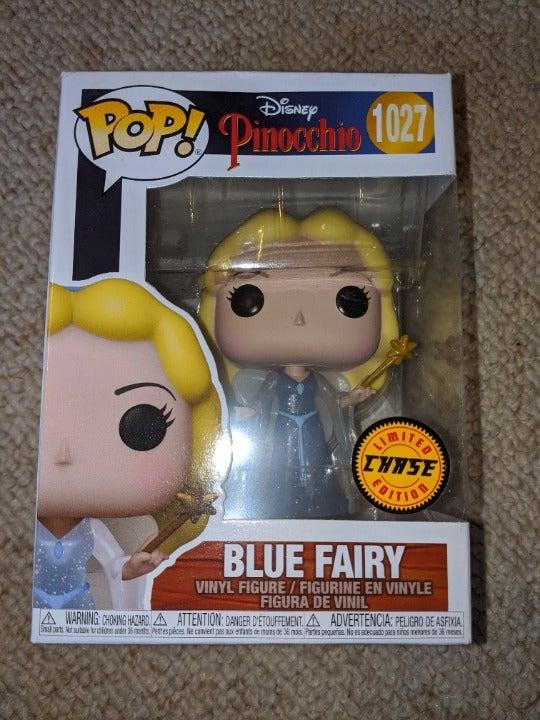 Funko pop pinocchio blue fairy chase