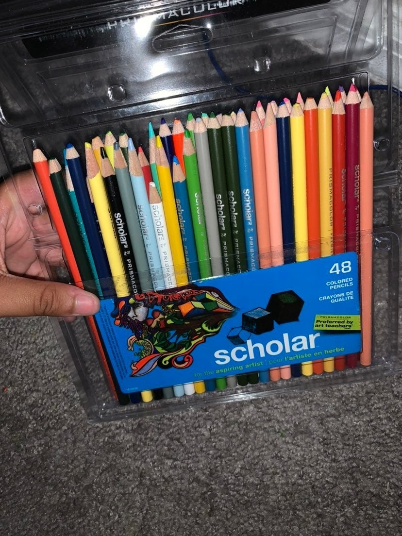 Scholar Prisma colored pencils 48