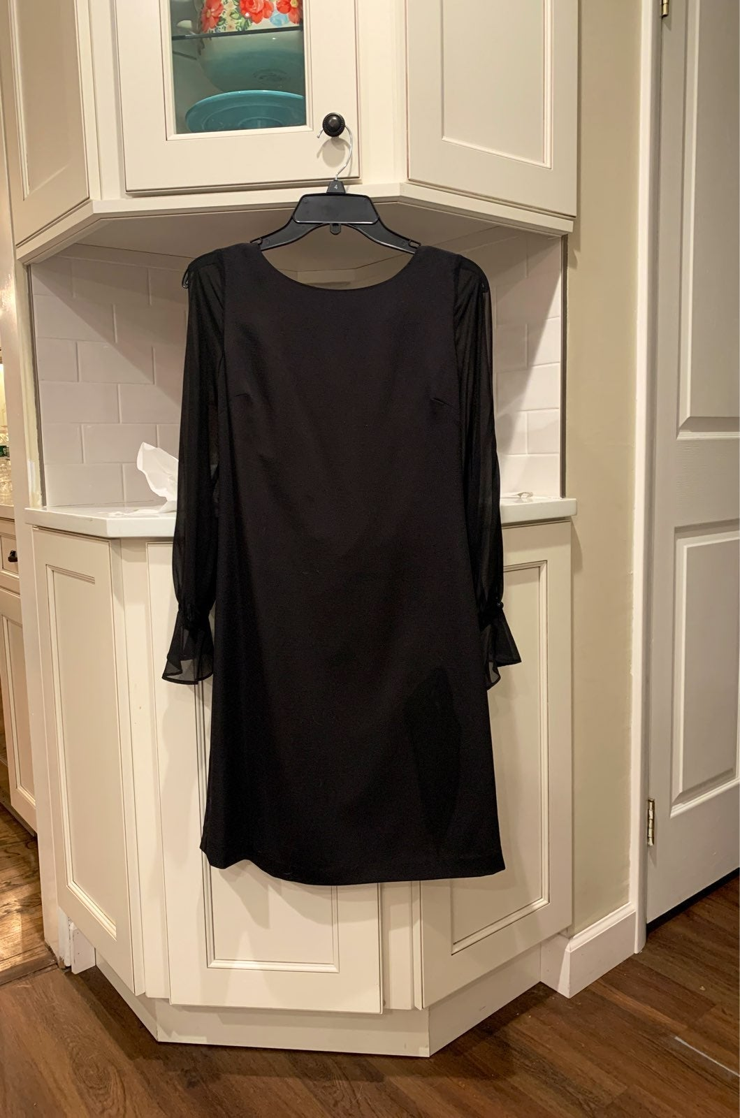 Karl Lagerfeld Black Party Dress