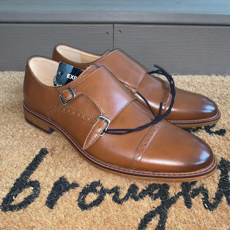 Express Monk Strap Dress Shoes