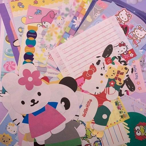 Sanrio Stationary, letter sets
