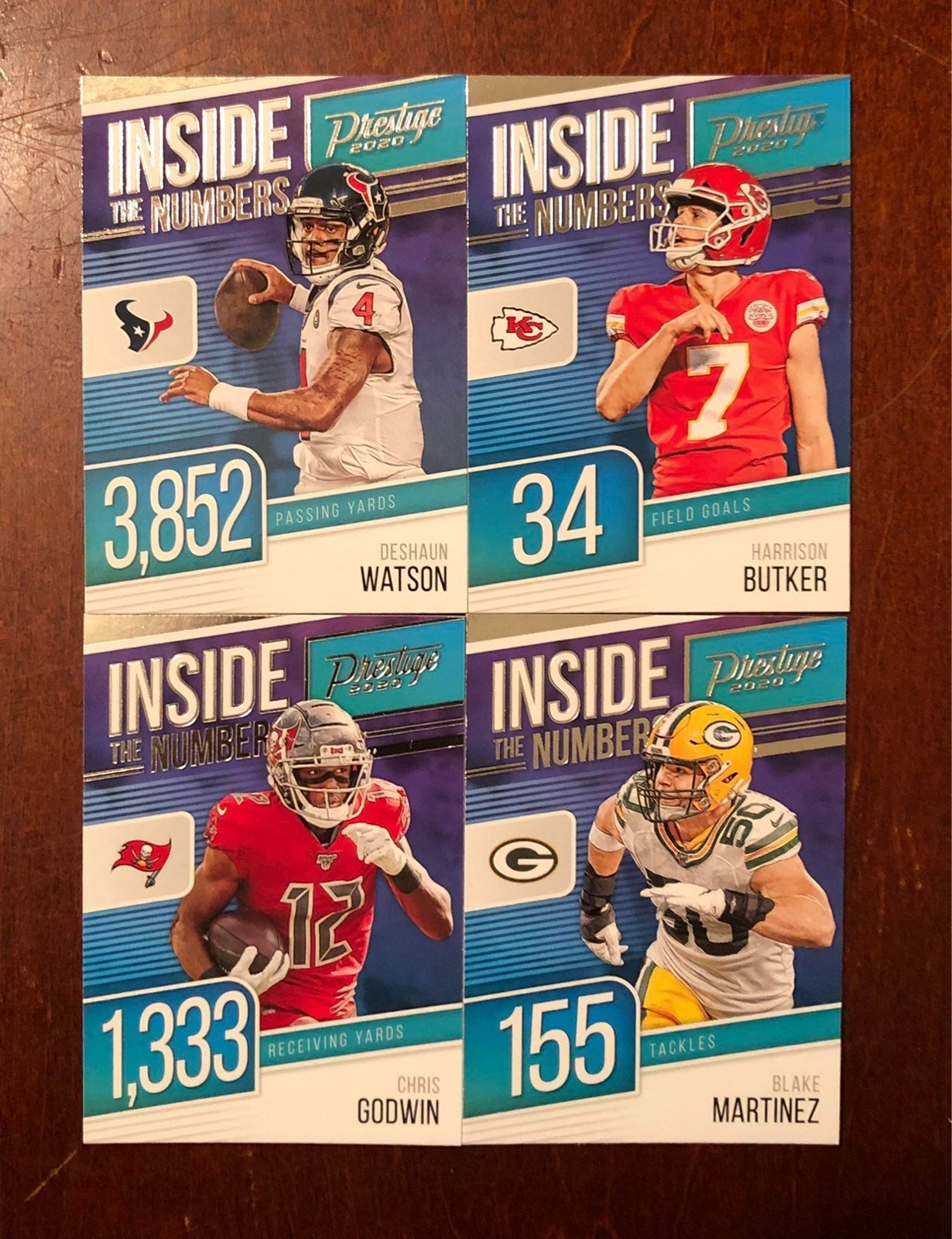Bulk Inside The Numbers Cards