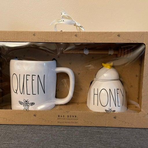Rae Dunn Queen Honey set