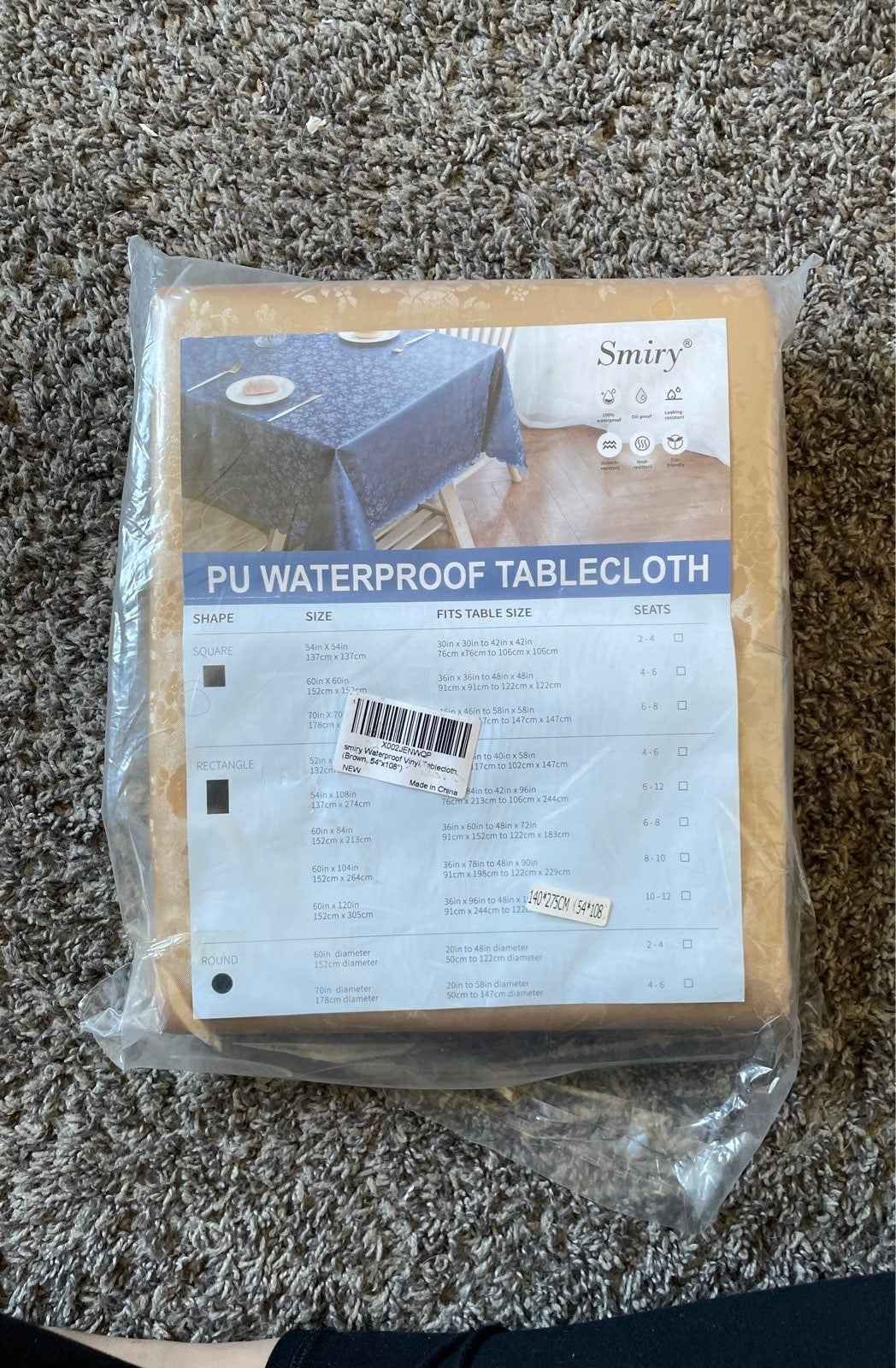Waterproof Tablecloth