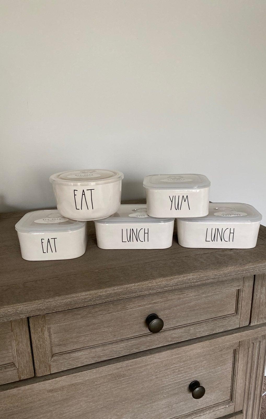Rae Dunn Food Storage