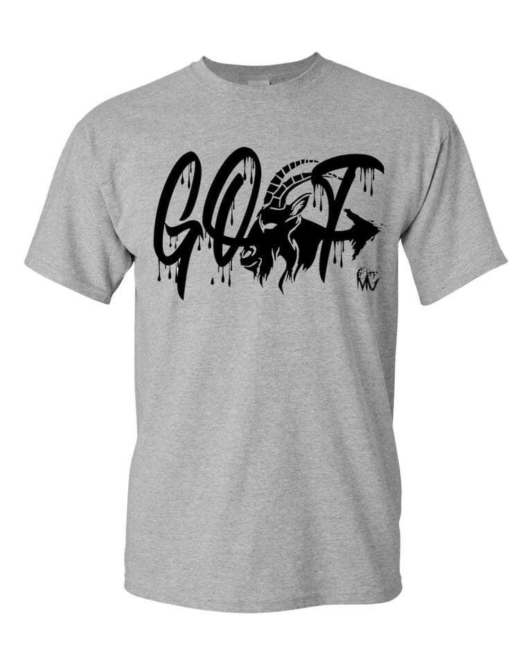 GOAT Logo Tshirt Unisex adult 2x