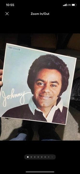 Johnny Mathis vinyl records