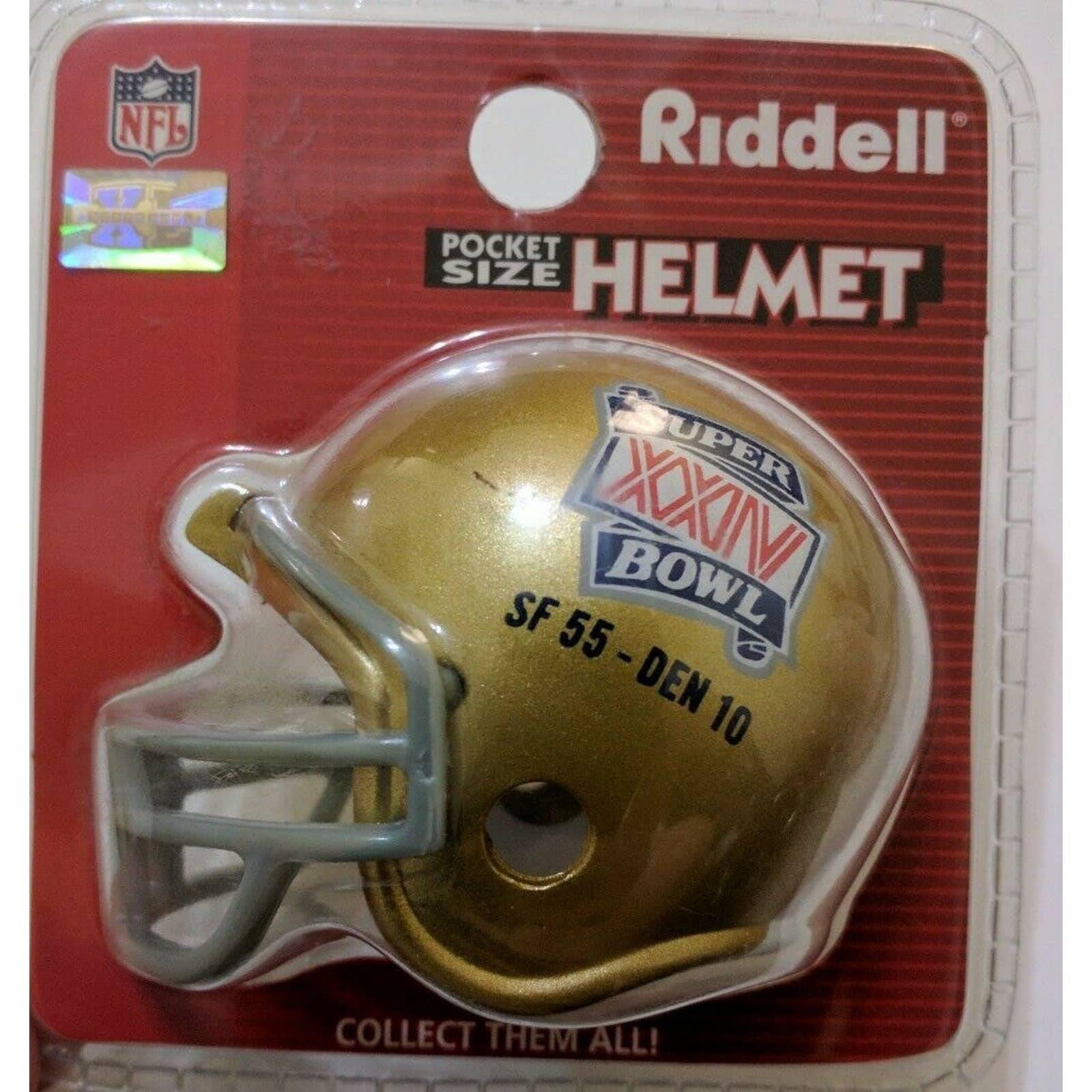 Riddell SF 49ers Pocket Size Helmet