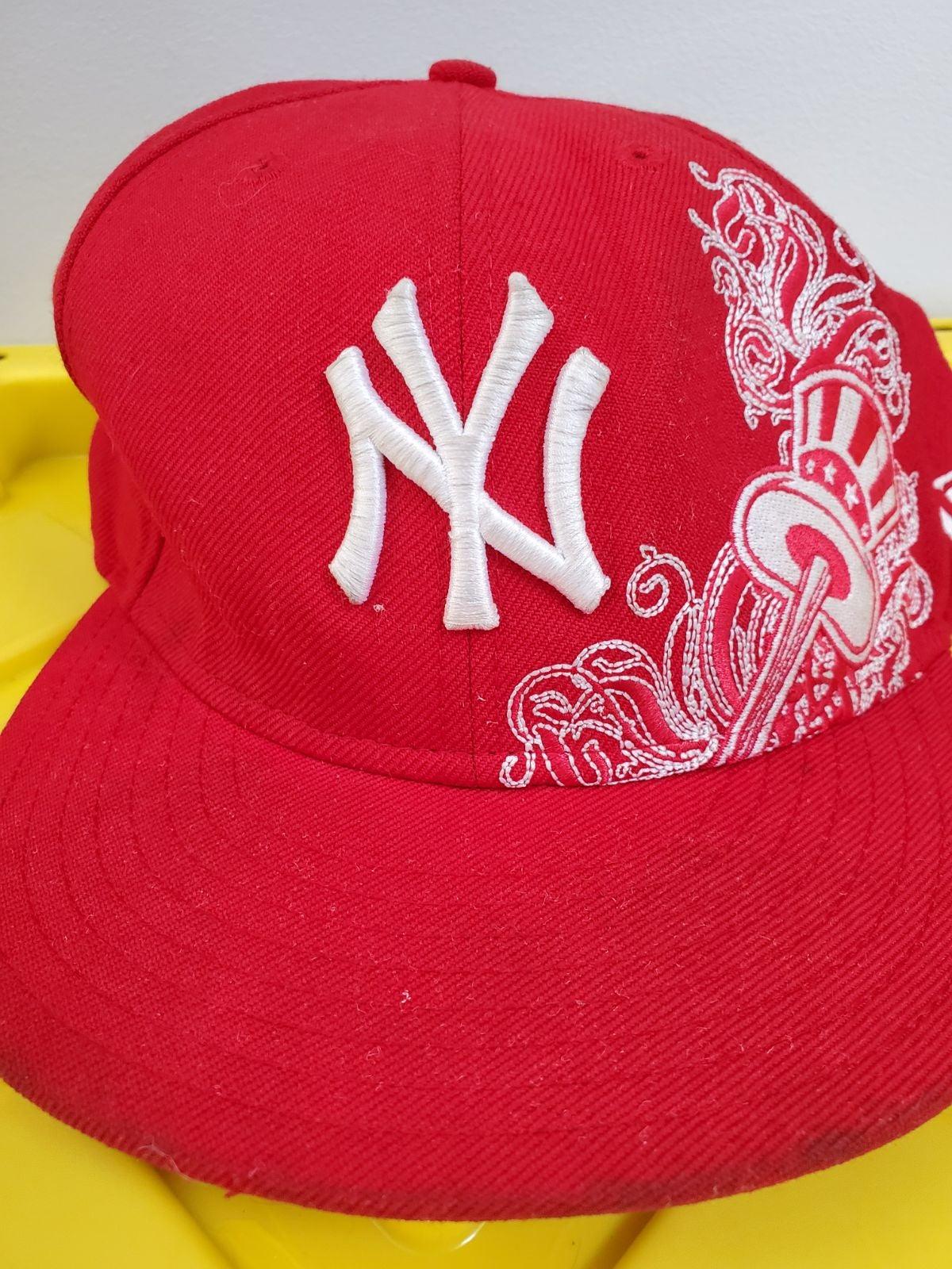 Rare New York Yankees New Era Hat 7 3/8
