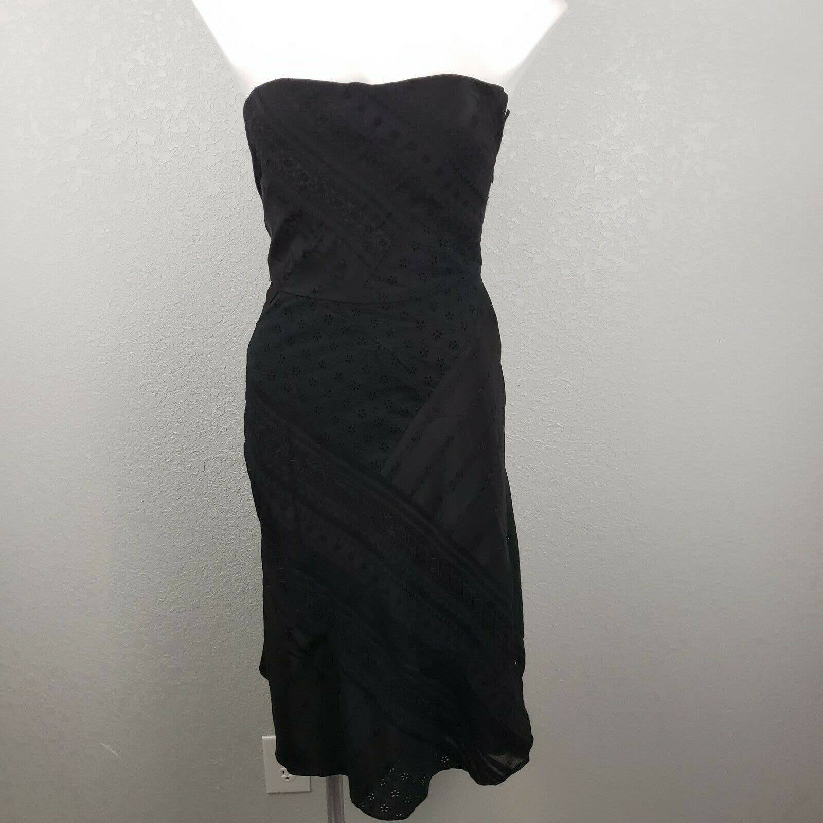Kay Unger sheath midi patchwork dress 4