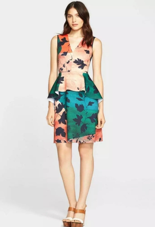 Clover Canyon Peplum Neoprene Dress XS