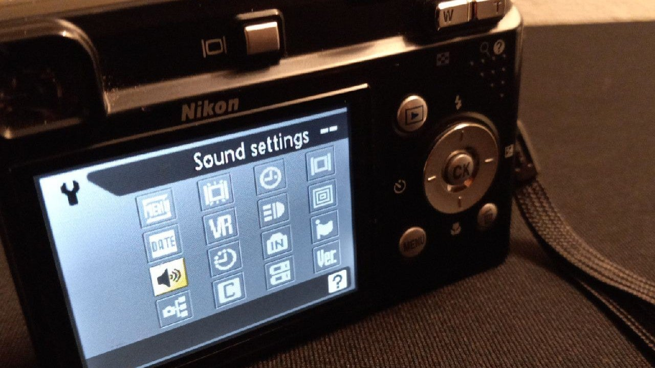 Nikon Coolpix p60 digital camera
